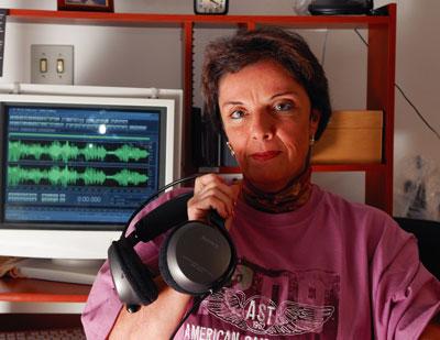 Sonia Rinaldi, pesquisadora em Transcomunicação Instrumental.
