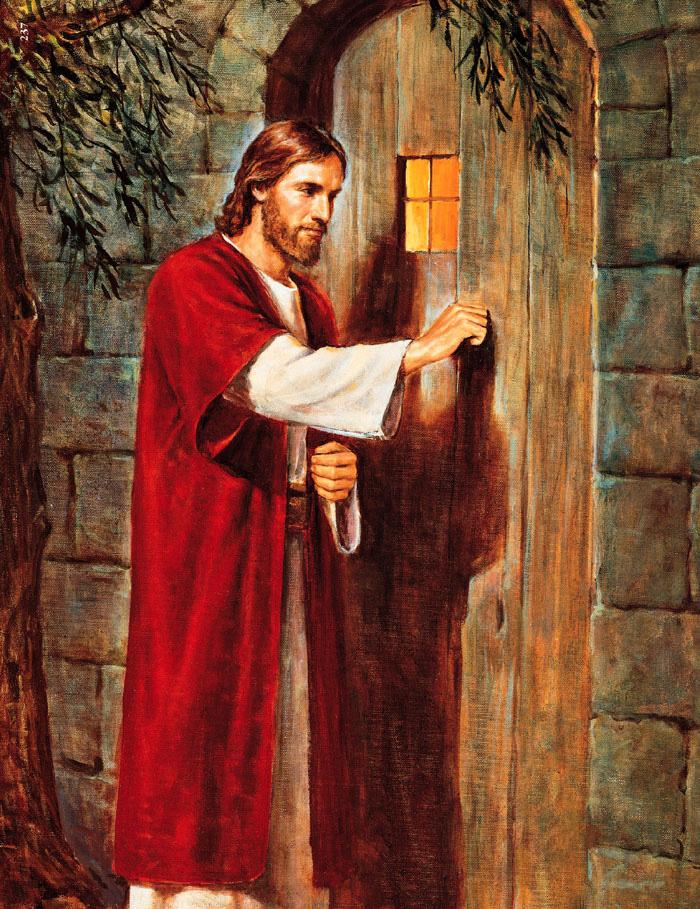 Entrai pela porta
