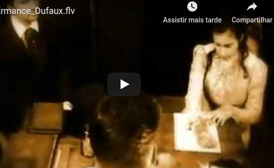 Vídeo sobre Ermance Dufaux