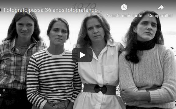 Fotógrafo passa 36 anos fotografando irmãs para mostrar como o tempo age sobre nós