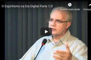 Palestra de Jorge Hessen sobre Internet e Espiritismo