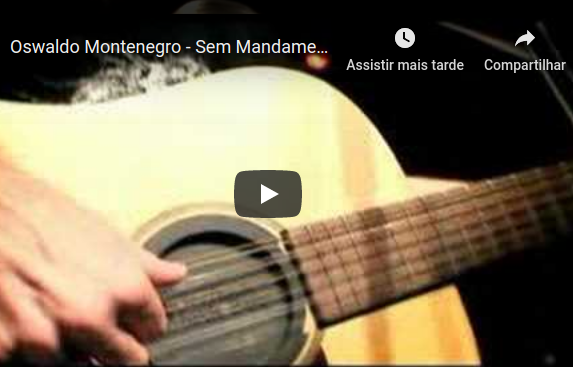 Oswaldo Montenegro – Sem Mandamentos