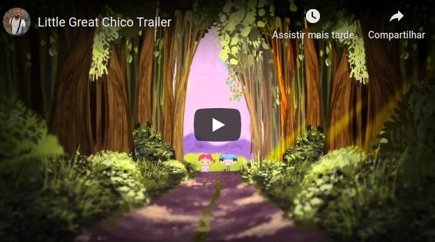 Primeiro Trailler do Desenho Animado de Chico Xavier