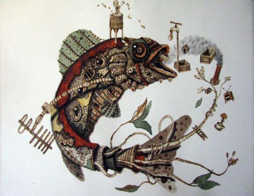 Arte sustentável de Scott Marr