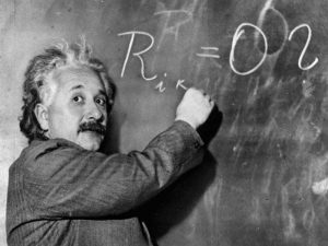 O Deus (deus?) de Einstein