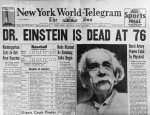 Albert Einstein – 60 anos de desencarnação