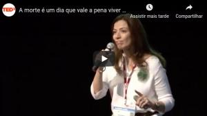 A morte é um dia que vale a pena viver: Ana Claudia Quintana Arantes at TEDxFMUSP