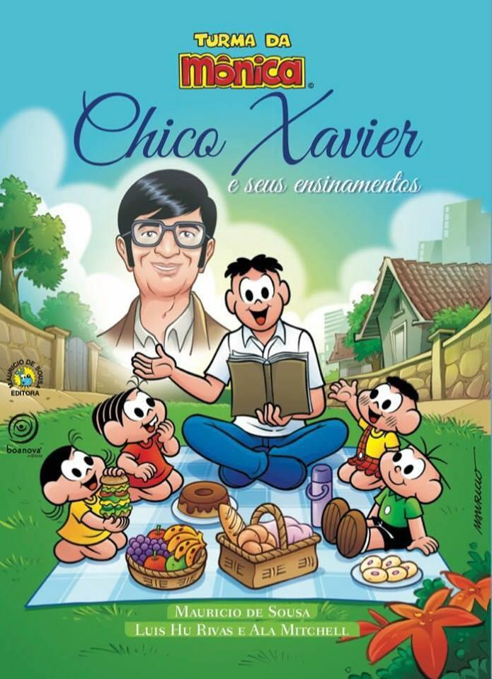 Turma da Monica e os ensinamentos de Chico Xavier