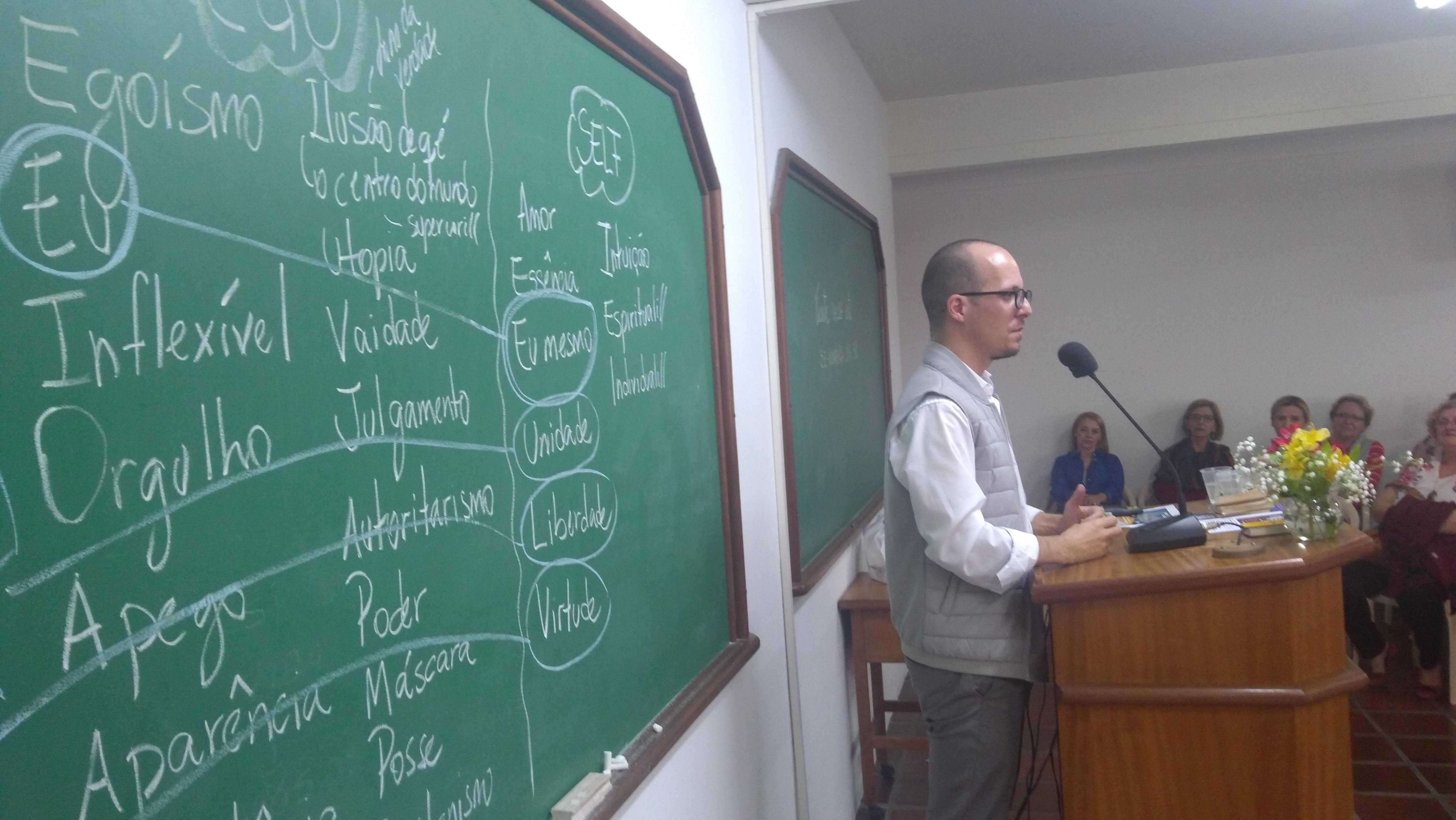 Videos da palestra de Marlon Reikdal na Nova Era