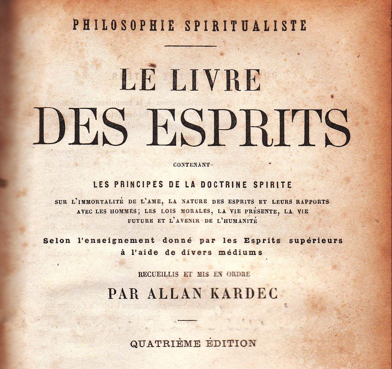 III – A filosofia espírita