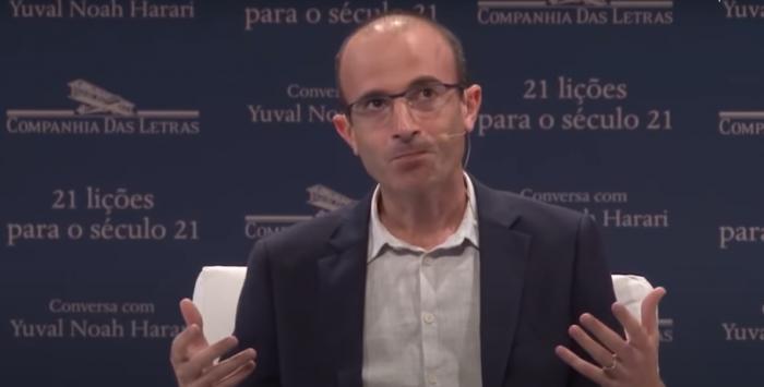 Entrevista inédita com Yuval Noah Harari pelo YouTube
