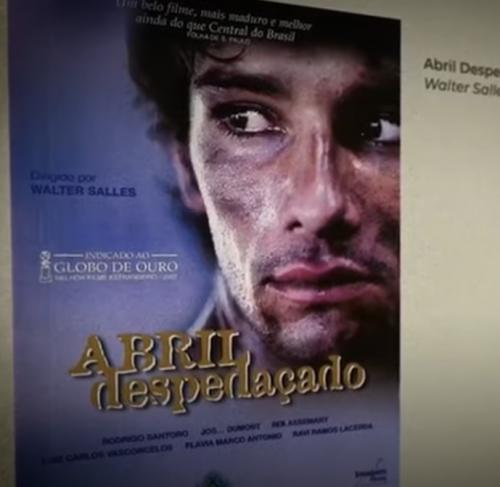 Rodrigo Santoro homenageia cinema nacional